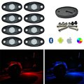 RGB LED Rock Light Cell Phone Control Under Car Color change Led Rock Lights
