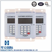 Wide temperature conditioned LCD display six integers and two decimals Electronic Din Rail Energy Meter