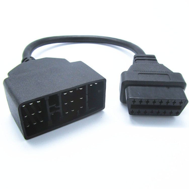 For Toyota 22 Pin To 16 Pin Female OBD 2 obdii obd2 Cable Connector Adapter Cable Car Diagnostic Tool