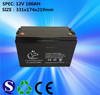 101 - 150AH Capacity and Dry Charged Battery Type Rechargeable lead acid MF Car Battery 12V100AH