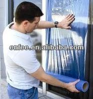 PE Plastic Window Glass Masking Film