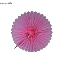 RuyiCrafts Party Ornaments Paper Decoration Tissue Fan