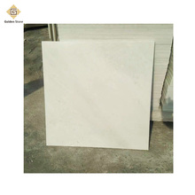 Factory directly sale honed snow white beauty marble