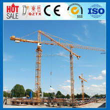 self erecting used tower crane in dubai QTZ80A CE approved