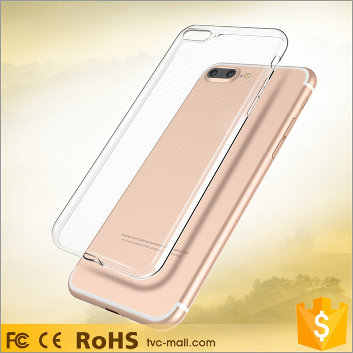 For iPhone 7 Plus Accessories Transparent Clear Soft TPU Casing Cell Mobile Phone Case