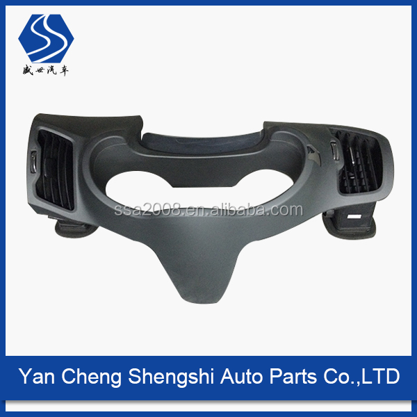 China factory supply auto plastic spare part with spraying service