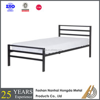 Square steel tube adult single beds