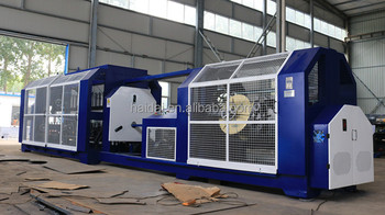 Supply two-for-one pp rope machinery from 2mm to 16 mm hitech15@hitechrope.com