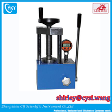 Laboratory small benchtop manual hydraulic pellet press
