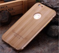 Natural Carved Wood Wooden Hard Case Cover Protect For Apple iPhone 5S 6 6s Plus