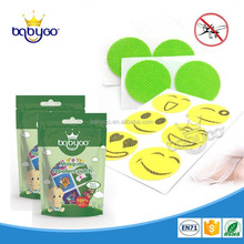 Disposable stocked customized repel anti mosquito stickers