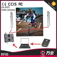 12dBi plate RFID long range antenna for Triathlon, Bicycle Sport Timing System