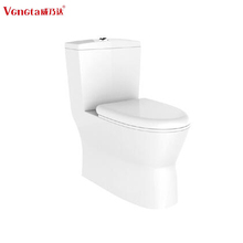 wc toilets floor mounted siphonic elongated one piece ceramic chaozhou sanitaryware