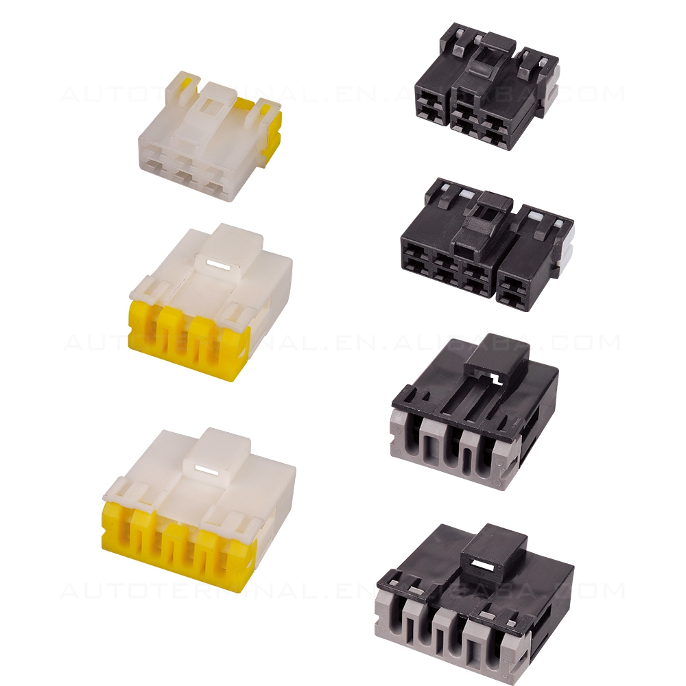 Supply Auto Plug 6.3mm Pitch 2 Pin Waterproof VW Car Connectors