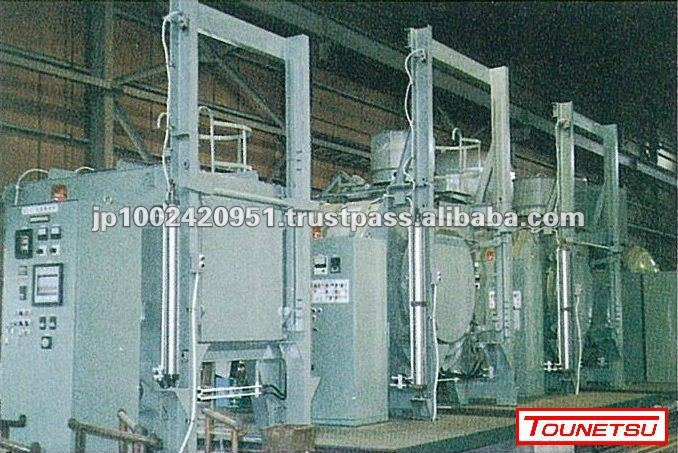 Vacuum tempering furnace for metal heat treatment