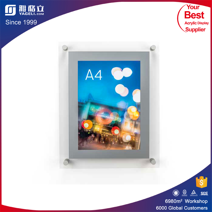 Different types 3x5 / 4x6 acrylic frames wholesale 2016 new style acrylic photofunia/photo frame for bulk picture frames
