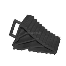 Rubber Wheel Chocks Use With Trolley Jack On Car Caravan Or Trailer 174908