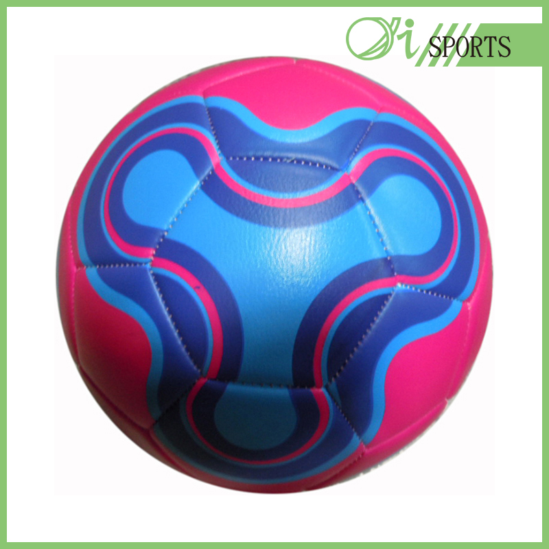 PVC retro raw materials soccer ball