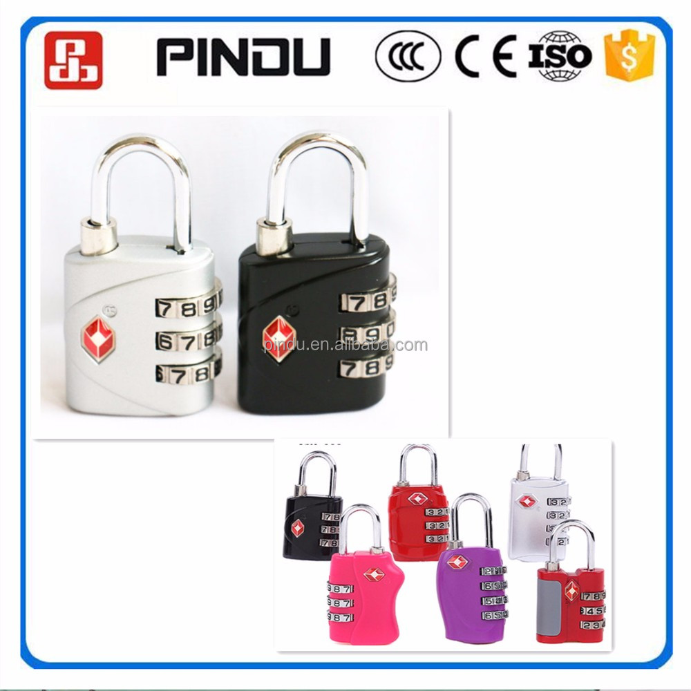 travel house tsa luggage lock for suitcase