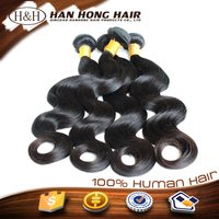 7A grade high quality brazilian human hair the most model hair extension