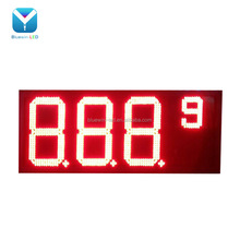 10'' large 7 segment LED gas diesel price digital display