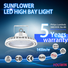 Shenzhen Dlc Premium >135Lm/W Ul Lamp Fixture Industrial Housing Ip65 Retrofit 80W 100W 120W 150W 200W UFO Led High Bay Light