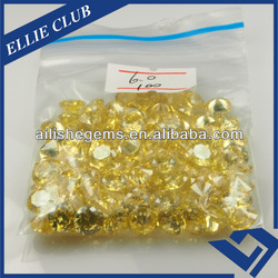 aaa bag packing semi-precious gems loose cubic zirconia