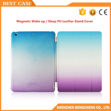 Smart Case for iPad 2/3/4 Ultra Thin Magnetic Wake up / Sleep PU Leather Stand Cover for iPad 4 Case PC Back Cover