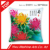 chrysanthemum 6D DIY colorful high quality seat decorative cushion cover