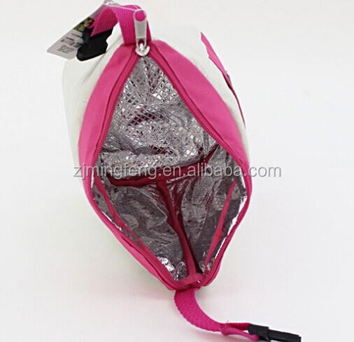cooler bag/ picnic cooler bag for girls/ polyester promotioal cooler bag