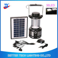 Solar Powered Rechargeable portable Lantern with radio Black, LOGO OEM