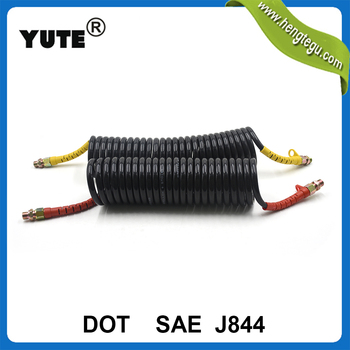 YUTE made nylon SAE J844 air brake hose tubing with DOT approved