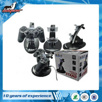 Blue LED Dual Charger Controller Stand Charging for PS3 Controller