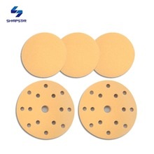 round gold abrasive sand paper disc like deerfos sanding paper CA331
