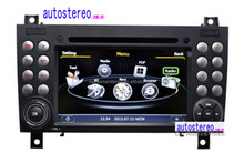 Autostereo Car DVD Player for Mercedes SLK W171 R171 GPS Navigation with Canbus,Ipod,BT,WIFI , Free Map Car Multimedia System