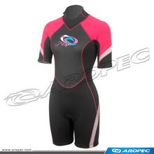 Flare Lady 3mm Neoprene diving shorty wetsuit