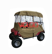 GOLF CART RAIN COVER FOR 2 PASSENGER GOLF CART, EZGO, CLUB CAR, YAMAHA