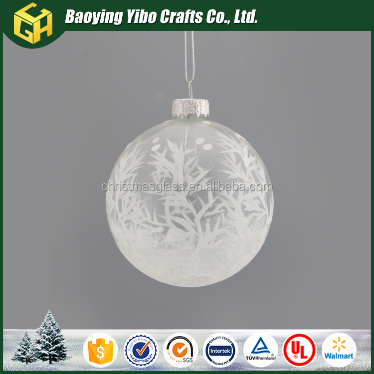 Whosale personalized christmas ornaments star and christmas tree ball