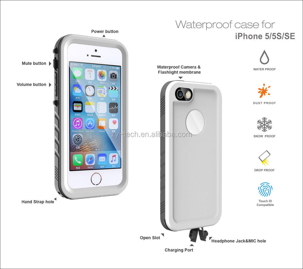 Hot selling Anti Shock proof mobile case cover for iphone 5s iphone 5 mobile phone cover