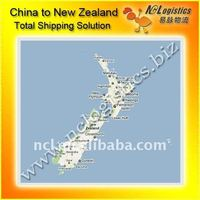 sea cargo freight service China to Wellington,New Zealand