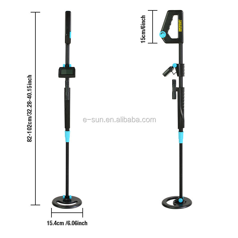 allsunTS20B Waterproof Metal Detector Portable Adjustable Length for Kid Underground  Toy Children Beach Searching