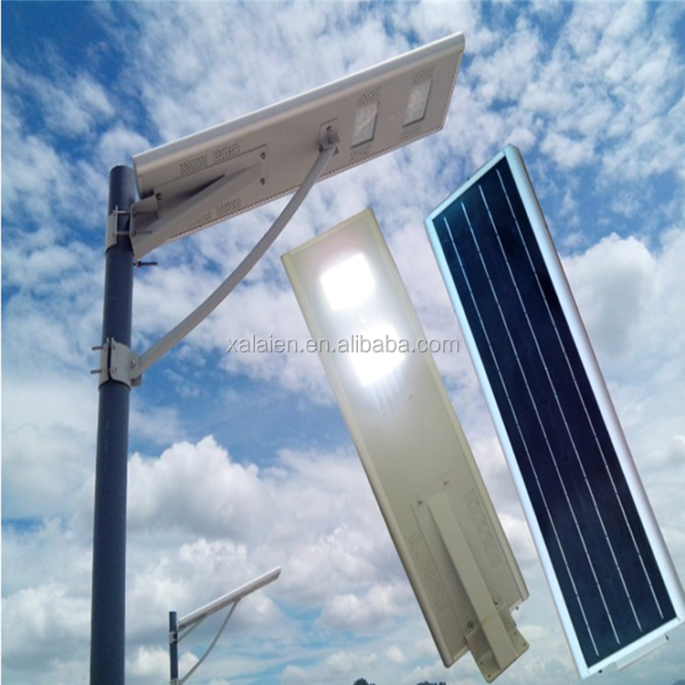 25W integrated outdoor solar led street light