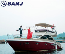 SANJ high quality luxury yacht with price