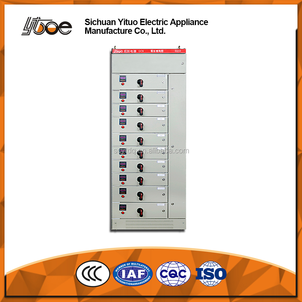 GCS Indoor Electrical Switch gear Distribution Cabinet