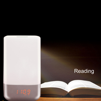 Led 3w buletooth speaker wake up decorative led creative energy saving with wake up lamp light