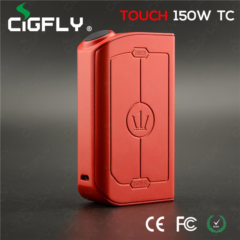Cigfly Advanced Vapor Mod Teslacigs Touch 150W TC tesla electronic cigarette Stock soon