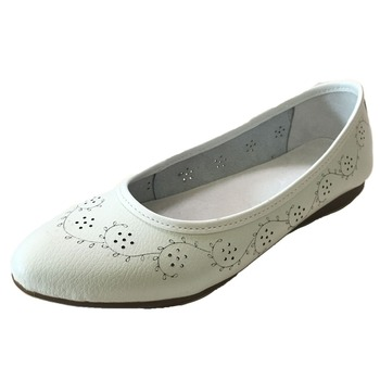 Women's Leather Superballerina Ballet Flat