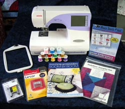 Janome Memory Craft 9500 Embroidery Sewing Machine