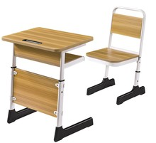 Modern furniture school table adjustable school desk and chair set
