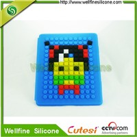 Newest Shockproof Protective Soft Silicone Cover for Mini laptop with DIY